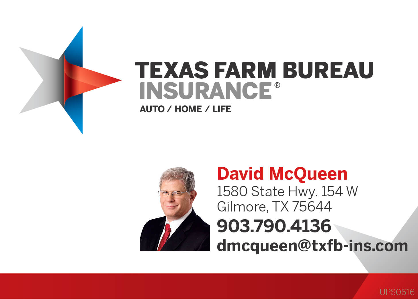 David McQueen Texas Farm Bureau Insurance